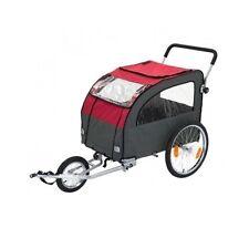 Large Dog Bike Trailer Pushchair Pet Carrier Jogging Kit Cat Bicycle Stroller