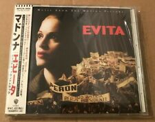 Madonna - Evita Very Rare Japanese Cd Album With OBI Strip + Lyric Booklet 1996