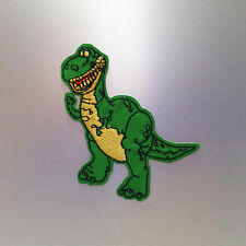 T Rex Patch — Iron On Badge Embroidered Motif — Dino Dinosaur Cute Tyrannosaurus
