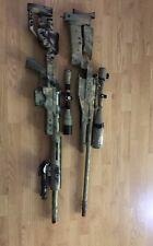 (Nerf gun Read description) Well Mb4410D bolt sniper/ R93 Lrs1 sniper nerf