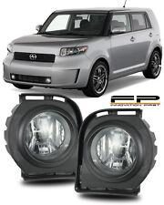 2008 2009 2010 Scion XB Fog Lights Clear Lens Front Bumper Lamps COMPLETE KIT