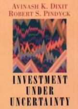 Investment Under Uncertainty: By Avinash K. Dixit, Robert S. Pindyck