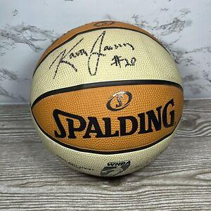 Kara Lawson Signed Autographed Full Size Basketball WNBA Olympics Gold Medal