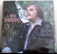 Jim Dearing He Was There All The Time Gospel Music LP Album sealed