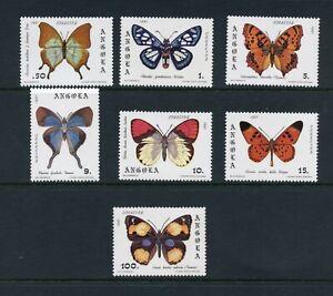 C626 Angola 1982 Papillons 7v. MNH
