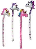 """Inflatable Unicorn Basher Stick 50"""" Various Kids Fancy Dress Party Prop"""