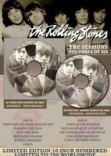 """I Rolling Stones le sessioni volume 3 10"""" in edizione limitata RARO VINILE CHIARO"""