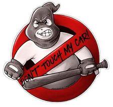 Don't Touch My Car! Aufkleber Sticker JDM Hoonigan Oldschool Tuning Auto