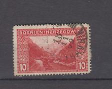 BOSNIA HERZEGOVINA 1906 10H DEFINITIVE TRAVNIK POSTMARK