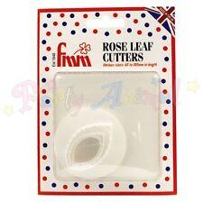 FMM Sugarcraft Rose Leaf Cutter Set of 3