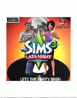 The Sims 3 Late Night DLC EA Origin Download Key Digital Code [DE] [EU] PC