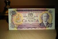 1971 Replacement $10 Dollar Bank of Canada Banknote *DA2761493 VF 20