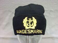 Bundesmarine Rollmütze/ Strickmütze mit Mützenkranz und Schrift Bundesmarine