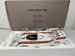 1/18 Minichamps Porsche 917/10 L&M Cn-Am Champion Follmer RARE  # WAP02160015