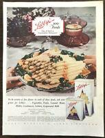 ORIGINAL 1929 Libby's California Asparagus PRINT AD Serving Platter