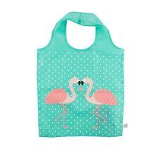 Impresión Plegable Flamingo Compras Reutilizable Bolsa De Hombro acarreo por Sass & Belle