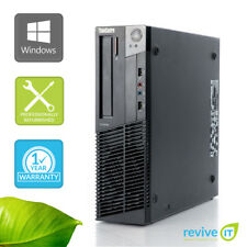 Custom Build Lenovo ThinkCentre M91p SFF  i5-2400 3.10GHz Desktop Computer PC