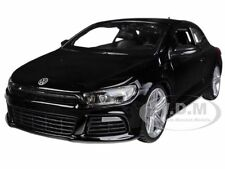 VOLKSWAGEN SCIROCCO R BLACK 1/24 DIECAST MODEL CAR BY BBURAGO 21060