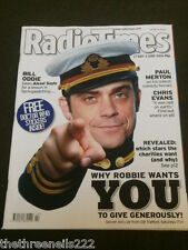 RADIO TIMES - ROBBIE WILLIAMS - SOCCER AID - MAY 27 2006