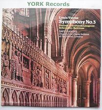 E 77024 - VIERNE - Symphony No  3 DAVID SANGER - Excellent Condition LP Record