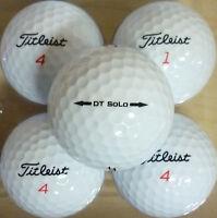 4 DOZEN MINT CONDITION TITLEIST DT SOLO GOLF BALLS
