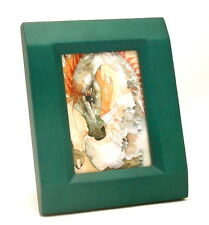 ACEO picture frame for 2.5 x 3.5 art-PASTEL GREEN-wood-single opening-Briarwood