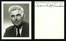 Branch McCracken Autographed Picture (Indiana)