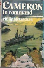 PHILIP McCUTCHAN CAMERON IN COMMAND FIRST EDITION HARDBACK U/C DJ 1983