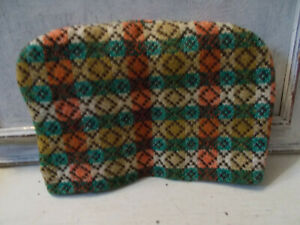 Vintage Welsh wool tapestry tea cosy good condition