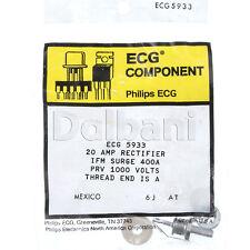 ECG5933 NTE5933 20 AMP Rectifier Philips ECG Component Mexico 400A 1000V