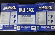 100 E. Gerber Mylites 2 775M2 and Half Backs 750 HB for Silver Golden Age Comics