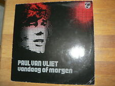 LP RECORD VINYL PAUL VAN VLIET VANDAAG OF MORGEN 2 LP SET 1979 PHILIPS