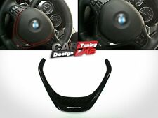 Carbon Fiber Steering Wheel Overlay Cover For BMW F30 F31 F32 F33 F34 F20 F22