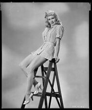 GINGER ROGERS - Vintage 1944 Camera Negative