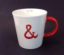 STARBUCKS Mug ~YOU & ME~  Friendship Or Couple COFFEE CUP Or MUG ~2013 Christmas