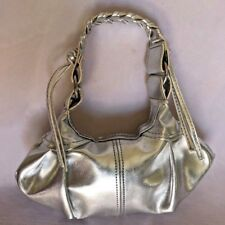 "Silvertone 3X6"" Fancy Doll Clothes Purse with 7"" Handle 1 Pocket Cs"