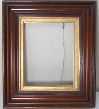 Excellent VICTORIAN AESTHETIC Ebonized Deepwell Gilded Liner Frame ANTIQUE