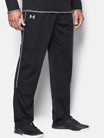 Under Armour UA Men's RIVAL Loose Men Knit Warm-Up PANTS 1277106 Black White