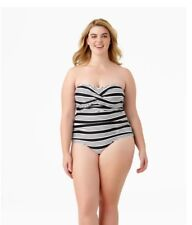 Catalina One-piece Women's Swinsuit Stripe Size 2X (18W-20W) New with tag!