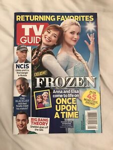 TV Guide Special: Once Upon a Time, Frozen, NCIS, Big Bang Theory — Sept. 2014