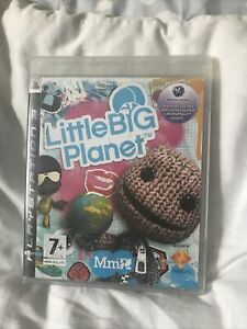 Little Big Planet 1 For Ps3 New & Sealed
