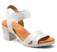 KEYS 5291 scarpe donna sandali aperti alti tacco plateau nabuk pelle camoscio