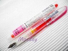 1 Pen + 3 Cartridges Pilot Petit 1 SPN-20F Mini Fountain Pen Fine Nib, PINK