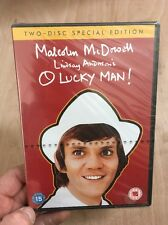 O Lucky Man-Malcolm McDowell(2xDVD R2)New+Sealed Lindsay Anderson 1973 Rare!