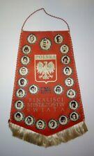 Poland Polen Polska Polnisches Wappen Fu/ßball Fu/ßball Nationalmannschaft Retro T-Shirt Jersey