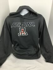 Badger Sport Mens Hoodie Sweatshirt Gray Sz Xl Arizona Spell Out