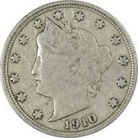 Liberty Head V Nickel 5 Cent Piece F Fine Random Date 5c US Coin Collectible