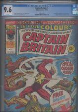 Captain Britain #1 CGC 9.6 1976 Marvel Comics Origin & 1st App Mask Included -2