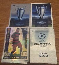 Match Attax Champions League 15/16 COMPLETE SET 525 Cards