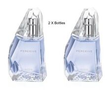 AVON X 2 50ml Perceive Perfume EDP = 100ml New & boxed Ideal Gift **FREE P&P**